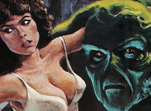Adrienne Barbeau Swamp Thing Painting
