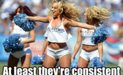 Hot Titans Cheerleaders