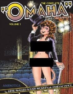 Omaha The Cat Dancer Collected Volume # 1