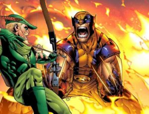 Wolverine Takes On Green Arrow