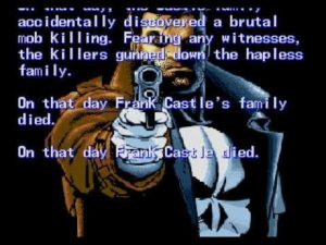 Frank Castle becomes The Punisher's  on The Sega Genesis