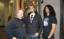 Brett with members of Warbringer