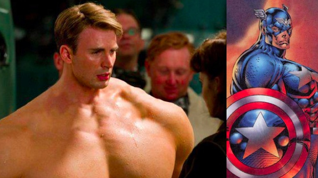Chris Evans Captain America Liefeld-ized