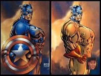 Proving How Ridiculous THE Rob Liefeld Captain America Picture Is