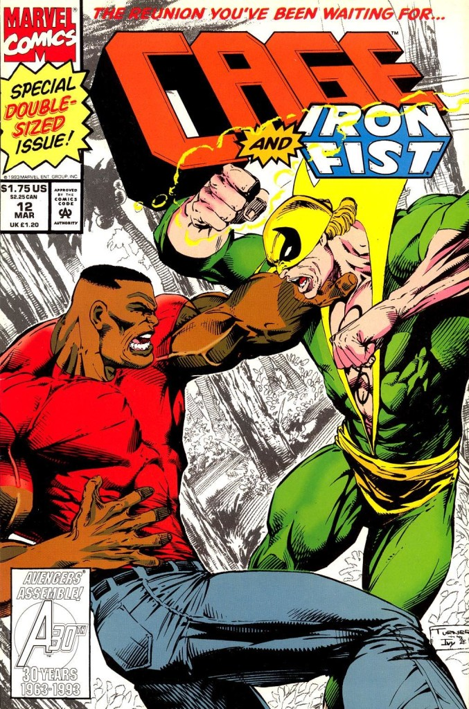 When Luke cage and Iron Fist finally had their reunion it was, to say the least, combustible