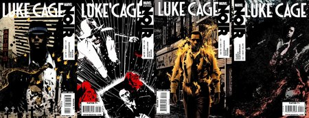 In 2010 we had a pair of books. Marvel created a very cool series of Noir books with varying characters, this is a nicely done cover montage of the series starring Luke
