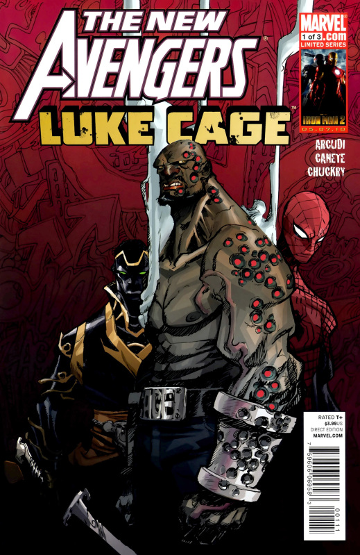 Anothe Mini with Luke was New Avengers: Luke Cage. Not sure why, but I feel like the artist Eric Canete was paying tribute to someone else here...