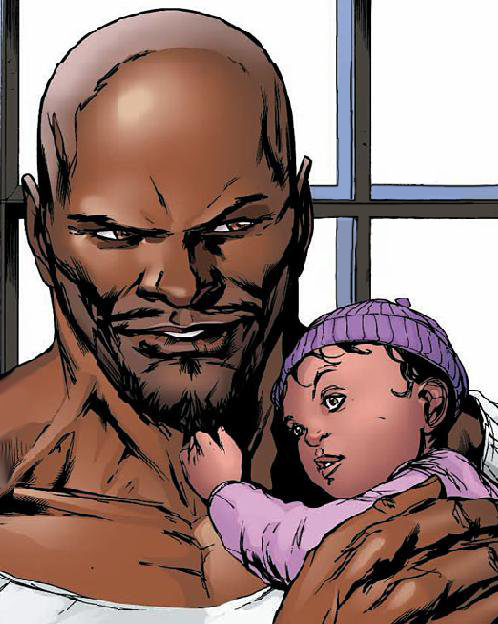 And they had a beautiful baby girl together Danielle Cage, named after Luke's best friend Danny Rand aka Iron Fist