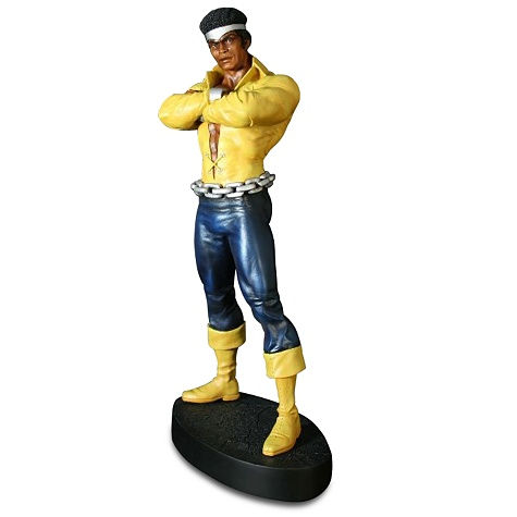 Here's a mighty nice Luke Cage as Power Man resin statue