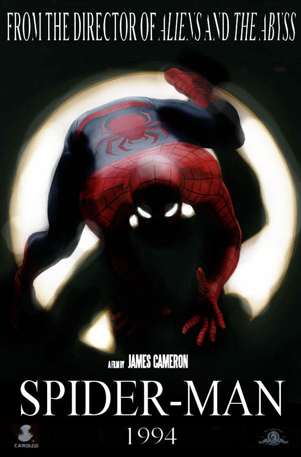 James Cameron Spider-Man 1994 Fake Movie Poster