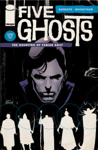 Five Ghosts from Image written by Frank J. Barbiere