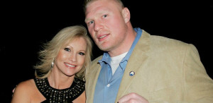 """The Beast"" Brock Lesnar and his lovely wife Rena aka Sable"