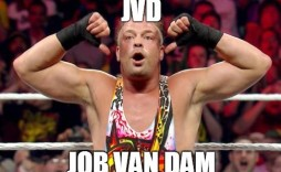 Remember when JVD - Job Van Dam was a star like Cena?