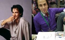 Balki Bartokomous and Batman '66 artist Scott Kowalchuk, separated at birth?