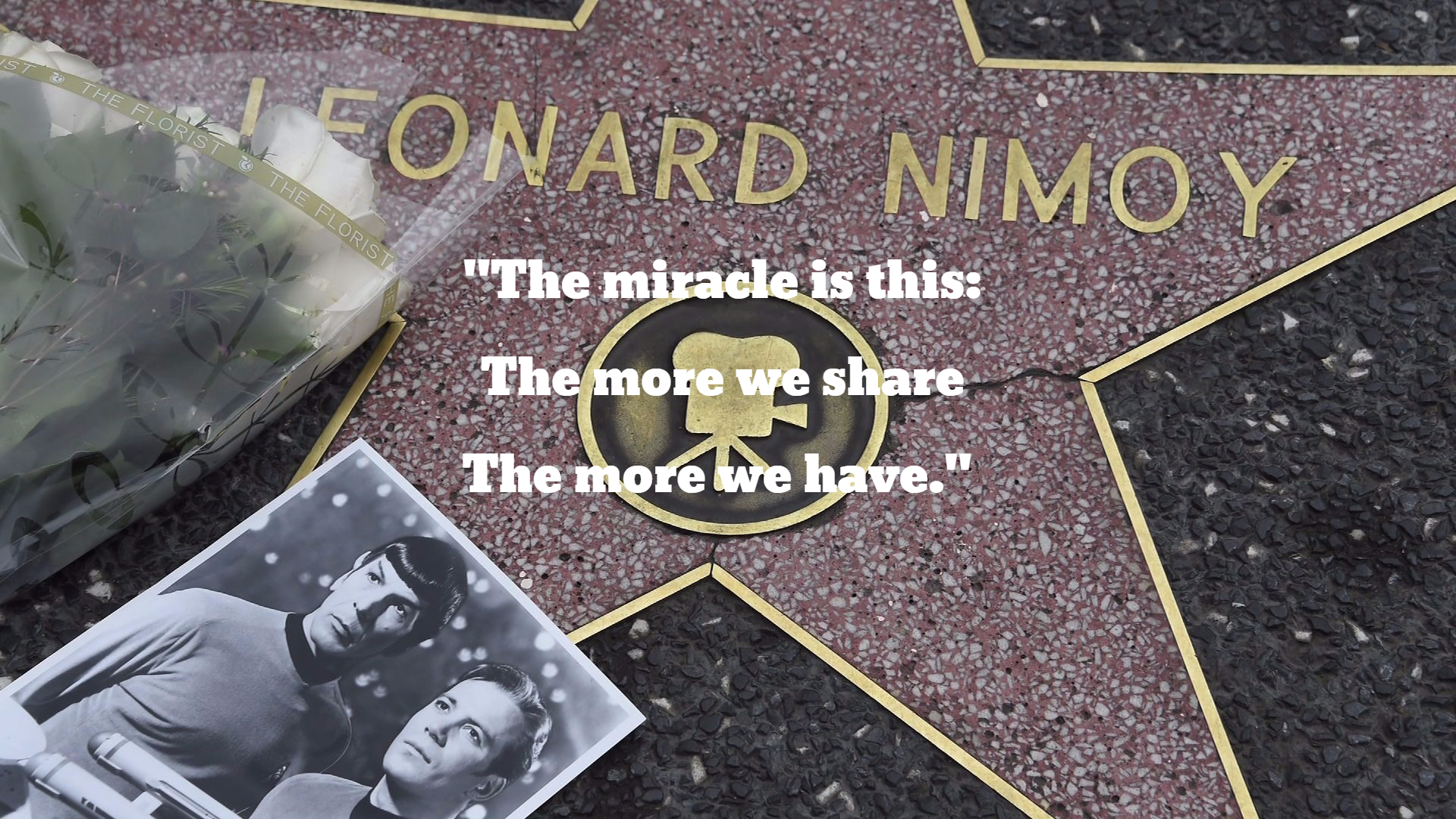 Nimoy Tribute 1