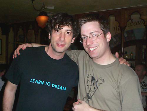 Hear how Jim Zub got this picture with the legendary Neil Gaiman.