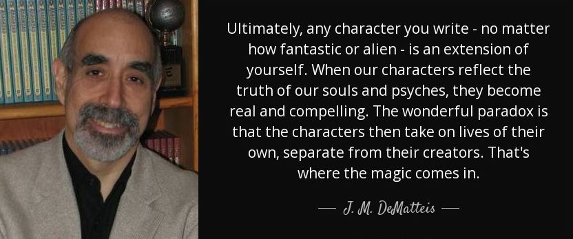 Wisdom from J.M. DeMatteis.