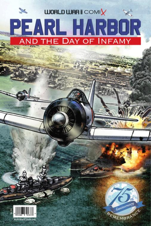 The Cover to Pearl Harbor and the Day of Infamy.